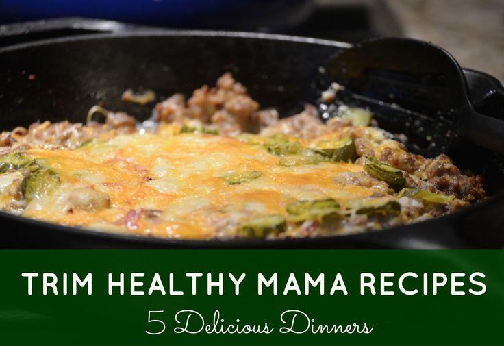 Trim Healthy Mama Recipe Roundup