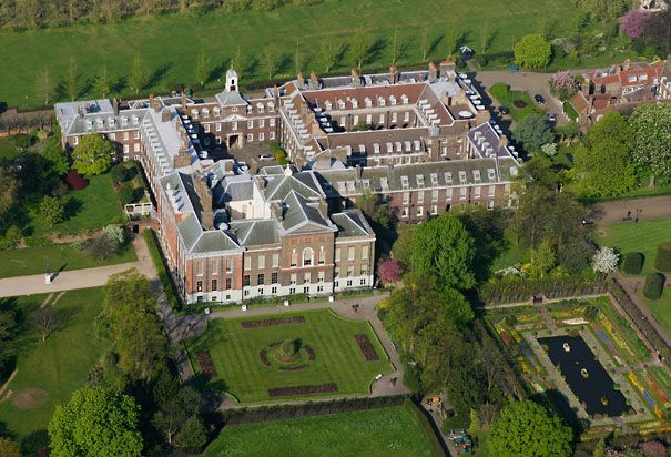 News and photos of the renovated Kensington Palace apartment, home to Kate and William, the Duke and Duchess of Cambridge, and Prince George...