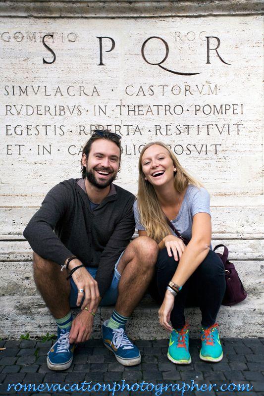 #vacationphotographer #rome #couples #honeymoon #prewedding #personalphotographer #capitolinehill