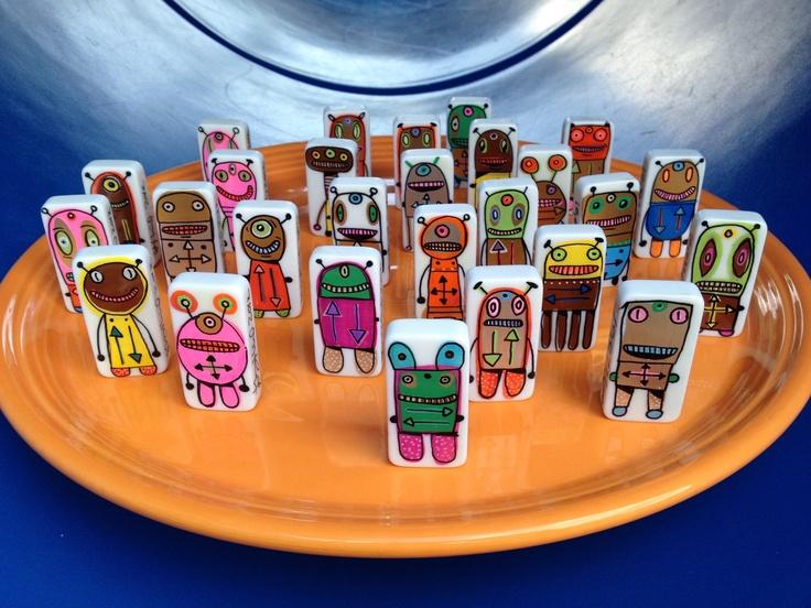 Decision Bots: they make your decision so you don't have to!: Joy Bots, Decision Bots, Deci Bots, Bots Par, Par Garyhirschartshop, Sur Etsy, Etsy Finding, Garyhirschartshop Sur, Hirsch Bots
