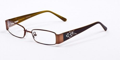These Impulse 776 frames are made durable material, coping with long term wear. The glasses have a detailed unique design on the arms. The lenses are rectangular in shape. The design on the flex arms adds a point of visual interest.