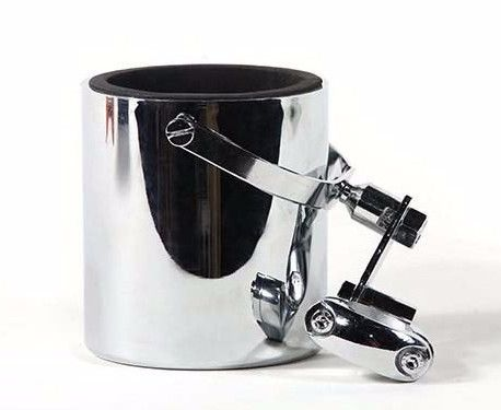 Chrome Motorcycle Cup Holder