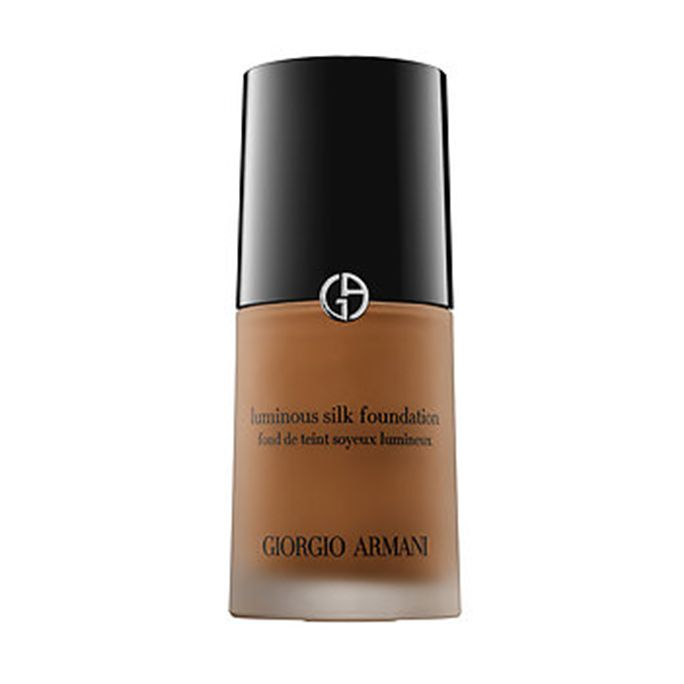 The Best Foundations for Dark Skin Tones? Beyoncé's Make Up Artist Tells All - Giorgio Armani Luminous Silk Foundation  - from InStyle.com