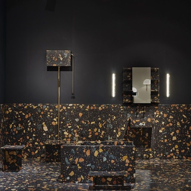 Creative Director Alexandra Cunningham Cameron gallery tour featuring max lamb bathroom design