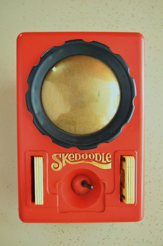 Vintage 70s or 80s Toy Skedoodle by Hasbro Childs Collectible Game Puzzle