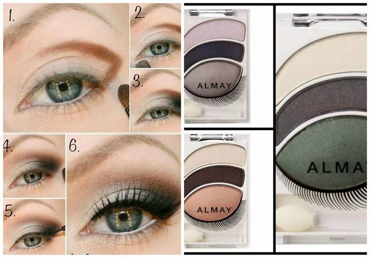 How to - Almay Eyeshadows  #Eyes #Eyeshadow
