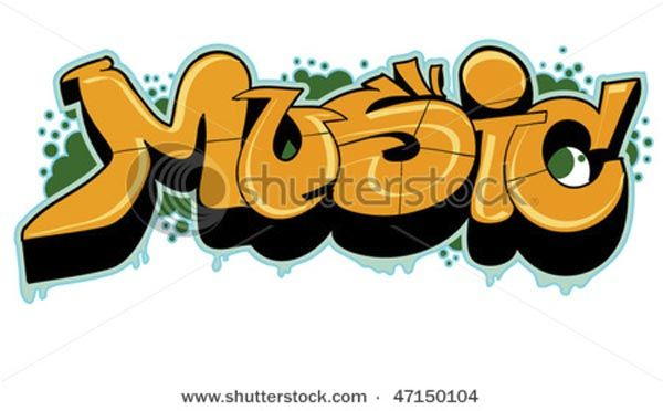Graffiti Music Designs