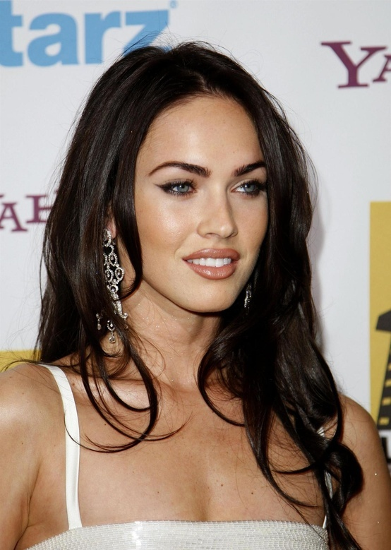 I've always been blonde. But as I've gotten older, my hair is now light brown. Megan Fox actually inspires me how great dark hair can look with light skin.