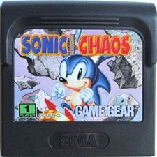 Sonic The Hedgehog Chaos - Game Gear Game