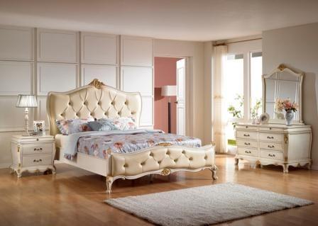 Set Tempat Tidur Jok Mewah   Cat Duco Minimalis Jepara   Jual Murah   Furniture Kamar Terbaru
