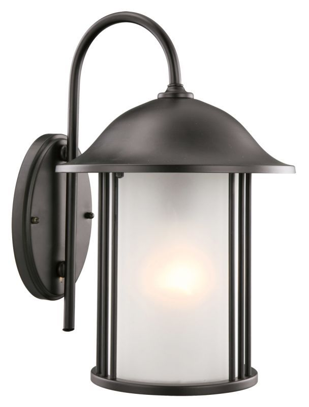 Design House 516799 Hannover Traditional / Classic 1 Light Ambient Lighting Outd Black Outdoor Lighting Wall Sconces Outdoor Wall Sconces