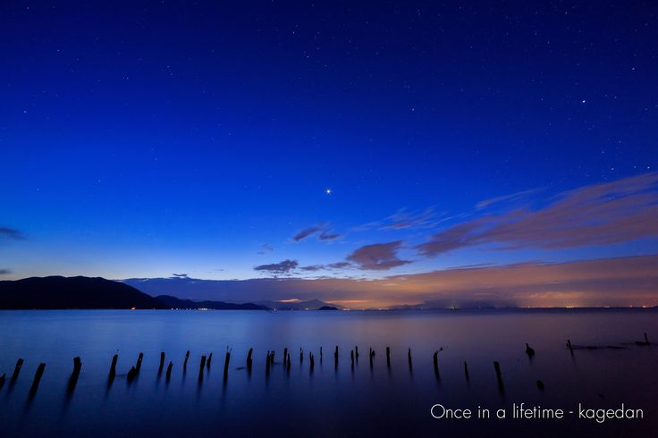 https://flic.kr/p/y5GkHb | 輝く金星 | 夜空がだんだんと明るくなってきたので少し絞ってみると、金星に光芒が出てくれました。