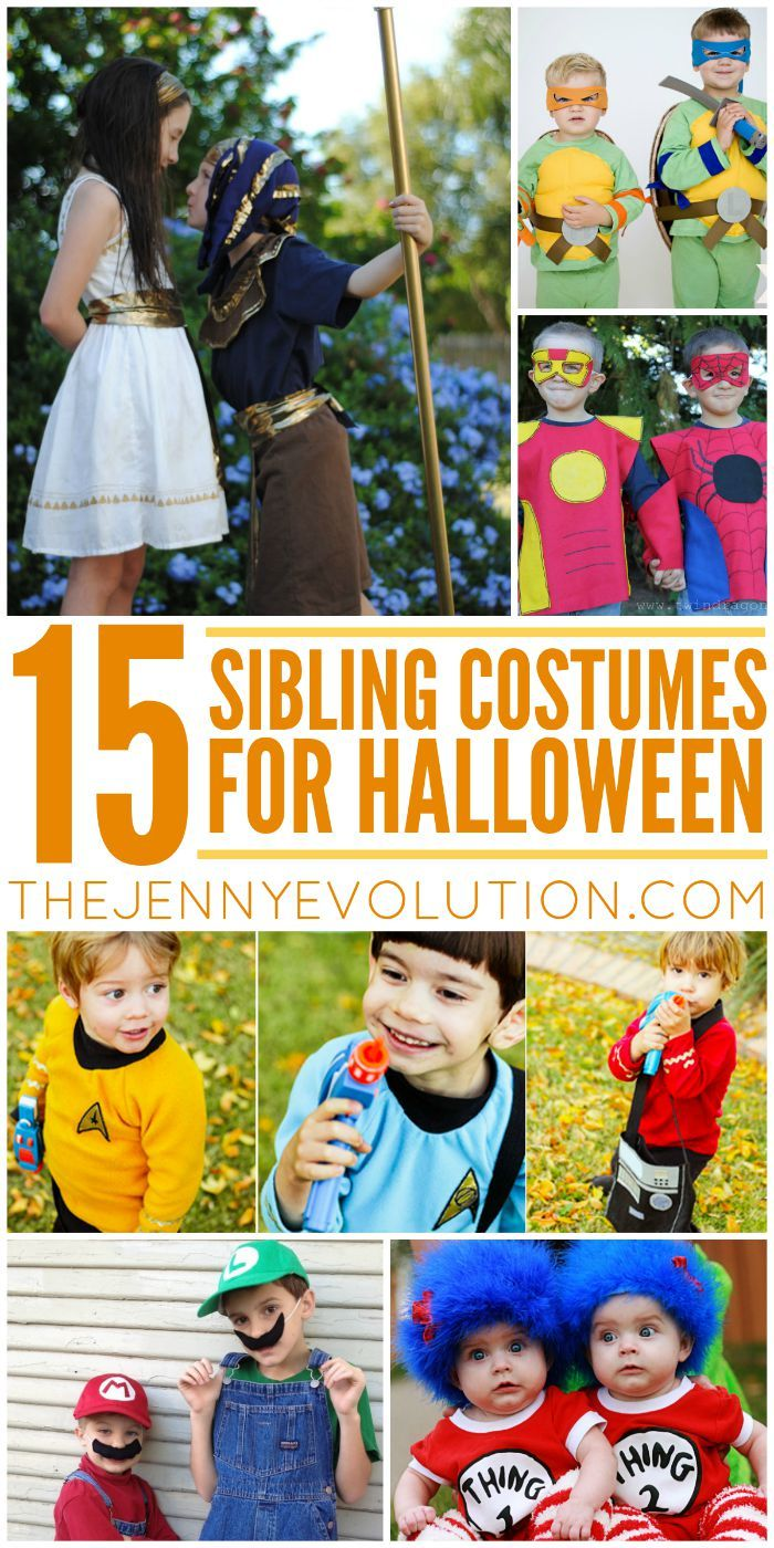 106 best Halloween Sibling Costumes images on Pinterest