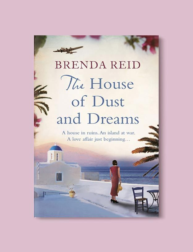 Books Set In Greece - The House of Dust and Dreams by Brenda Reid. For more books visit www.taleway.com to find books set around the world. Ideas for those who like to travel, both in life and in fiction. #books #novels #fiction #travel #greece