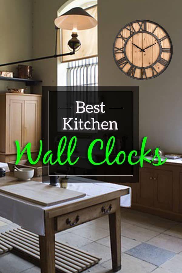 Best Kitchen Wall Clocks in 2018 Wall Art  Decor Pinterest