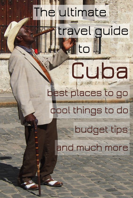 Planning to travel to Cuba? Start your fascinating journey with this ultimate travel guide and discover the beauty of this unique country frozen