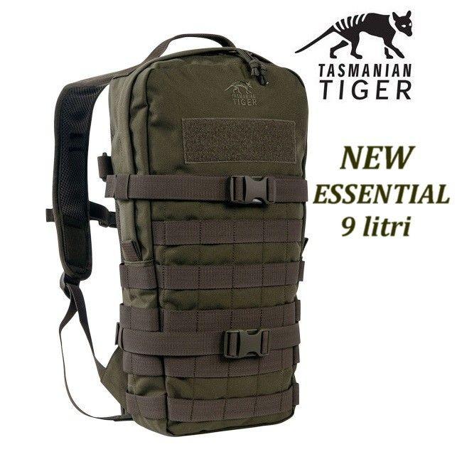 Tasmanian Tiger Essential pack verde od - 9 litri