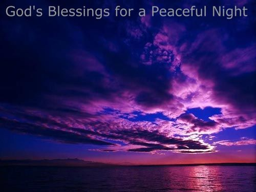 Good Night Blessings Images And Quotes: Good Night Prayer
