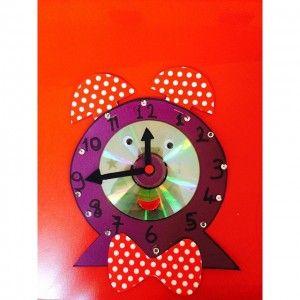 clock craft idea for kids (6)