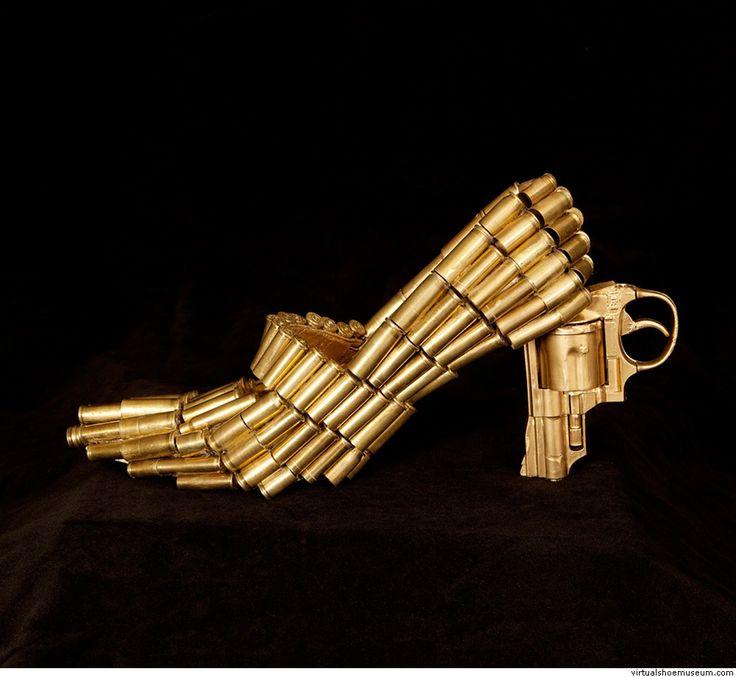 A Shoe for a Shoot Elvira Rajek | virtualshoemuseum.com
