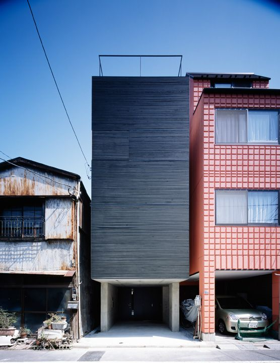 Lattice Is A Minimalist House Located In Tokyo, Japan, Designed By APOLLO  Architects U0026 Associates. The Site Is Located In A Highly Populated  Residential ...