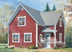 Plan de maison no. W2588 de dessinsdrummond.com