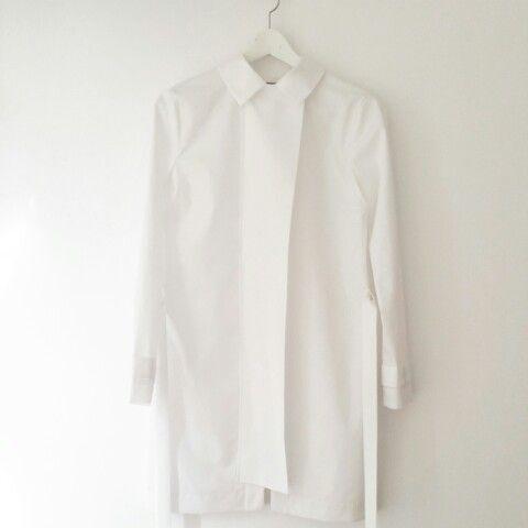 Andra Andreescu white shirt