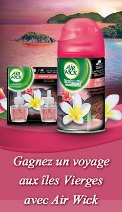 Re-pin pour voir les îles Vierges. Gagnez un voyage aux îles Vierges !  Fin le 31 mars.   http://rienquedugratuit.ca/concours/air-wick-voyage-iles-vierges/