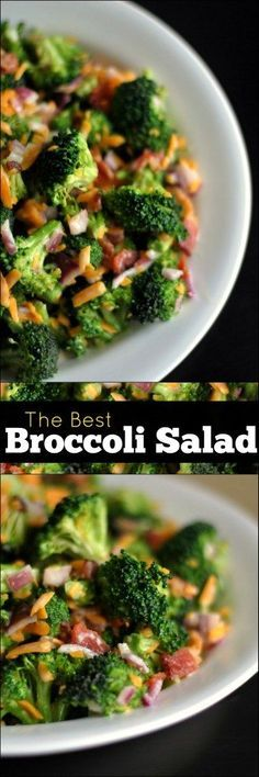 I have tried SO many recipes and THIS is the BEST Broccoli Salad in the world!  I can't stop eating it!