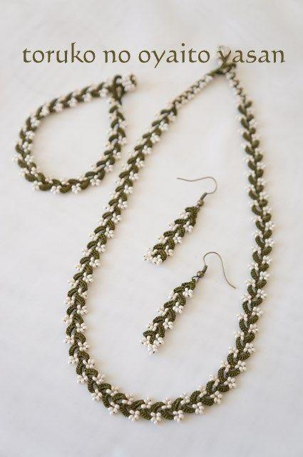 Orecchini perline accessori di Bonjukkuoya
