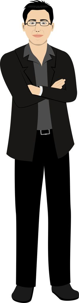Business avatar for eLearning.