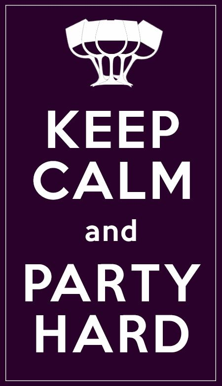 Keep Calm and... party hard  #wine #winelover #chianti #tuscany #italy #love #keepcalm
