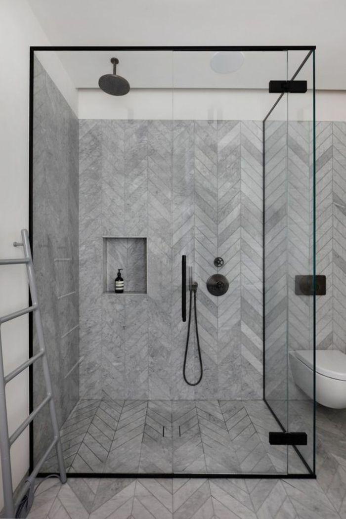 1001 Idees Pour Une Salle De Bain Avec Verriere Cloisons Douches Interieur Salle De Bain Salle De Bain Minimaliste Et Idee Salle De Bain