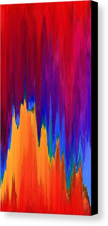 Pixel Sorting 14 Canvas Print by Chris Butler.  #art #abstract #artdeco #design #interior #home #Decor #wall #modern #contemporary #homedecor #abstractart #interiordesign #simple #canvas #print #pixelsorting #pixelsort #hue #algorithm #glitch