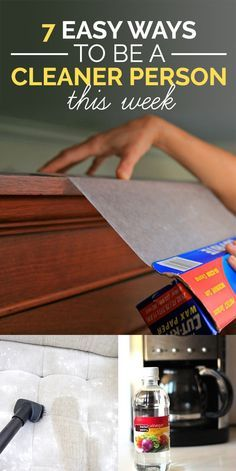7 Easy Cleaning Tips You'll Actually Want To Try