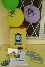 Путешествие на остров Содор, или Веселые приключения паровозика Томаса и его друзей. Четвертый день рождения Артемки / Детский день рождения...