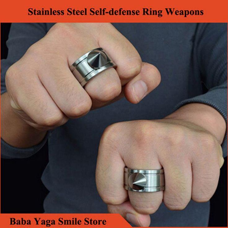 $2.09 (Buy here: https://alitems.com/g/1e8d114494ebda23ff8b16525dc3e8/?i=5&ulp=https%3A%2F%2Fwww.aliexpress.com%2Fitem%2F1ps-Self-defense-Ring-Shocker-Weapons-Product-Survival-Ring-Tool-Pocket-Women-Self-Defense-Ring-Stainless%2F32634668386.html ) 1ps Self-defense Ring Shocker Weapons Product Survival Ring Tool Pocket Women Self Defense Ring Stainless Steel Spike + Chaining for just $2.09