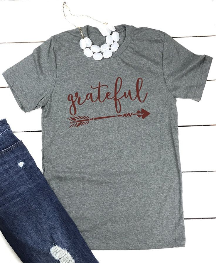 There is always something to be thankful for, no matter what time of the year it is! Choose from 4 designs on a soft cotton/poly blend tee - these are a great reminder of all there is to be grateful for.