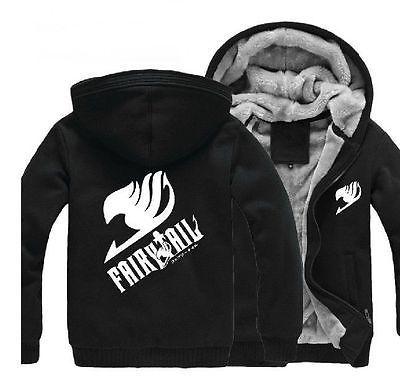 Hot selling Fairy Tail Clothing Hooded Sweatshirt Cosplay Hoodie 2 Color #