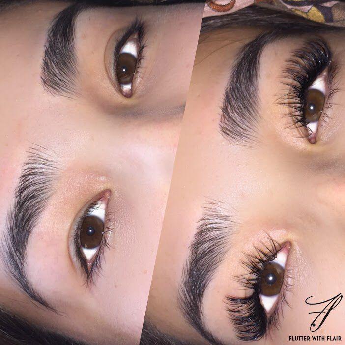 Classic Eyelash Extensions L Plus Curls Follow Ig