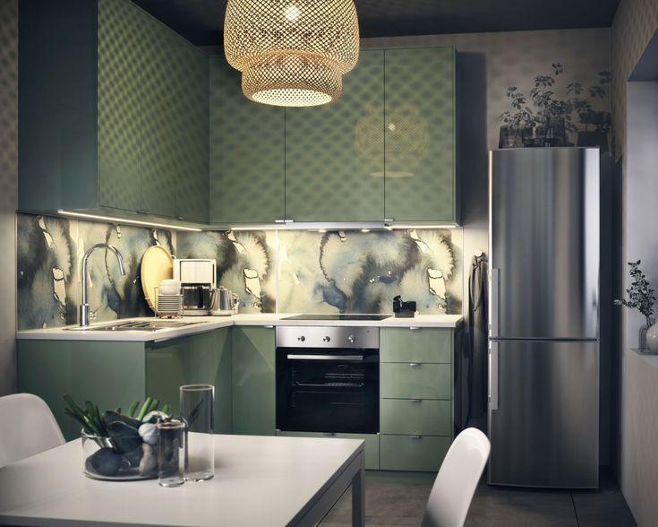 die 14 besten bilder zu ikea-küche auf pinterest | snacks, küche ... - Offene Küche Ikea