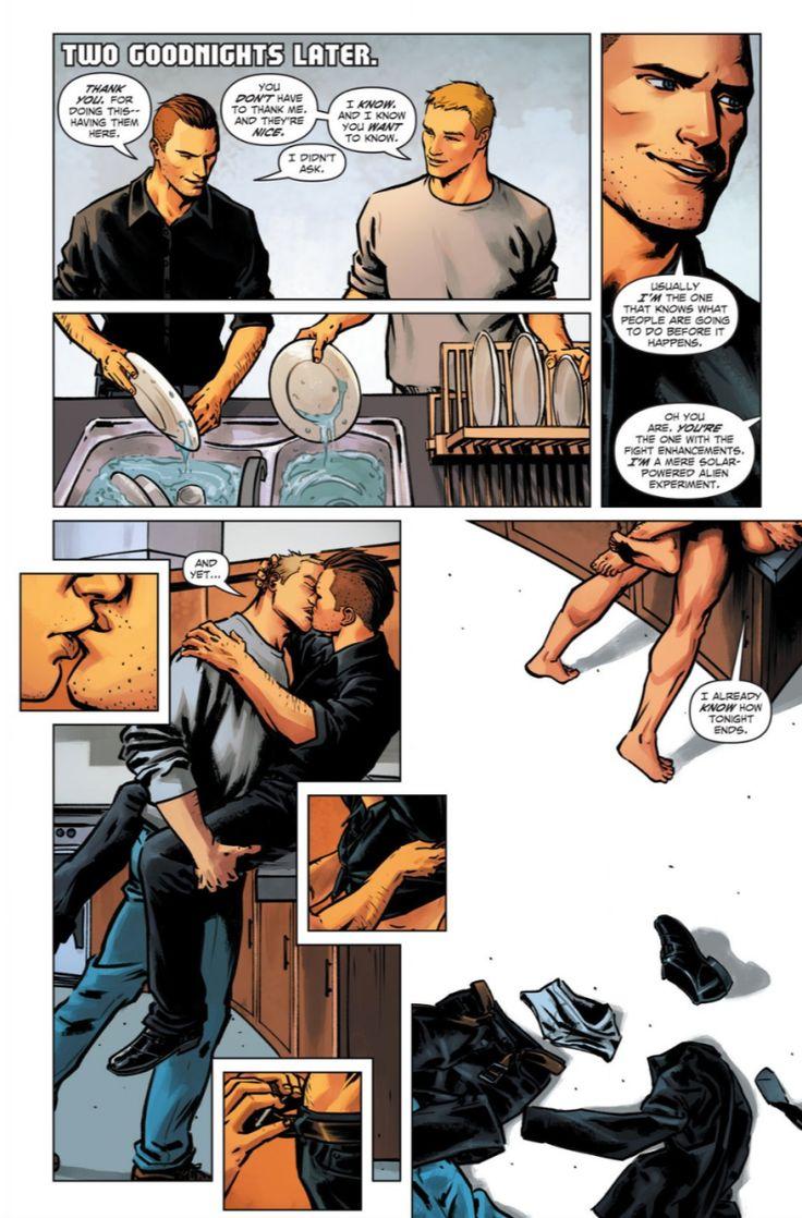 Apollo Pop Gay Comic