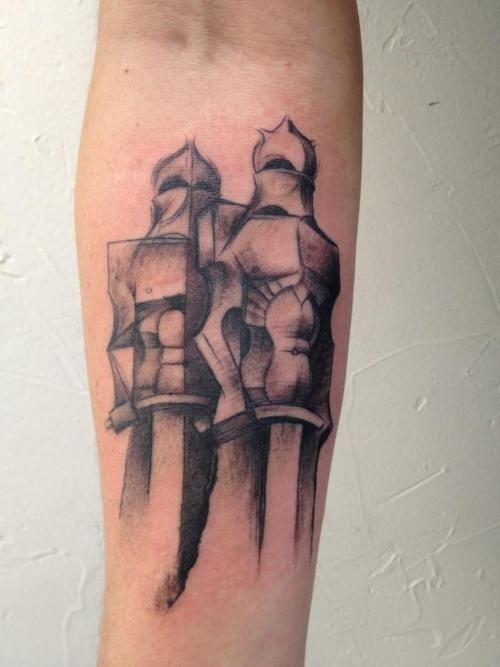 Gaudi's Soldiers tattoo | Tattoo | Tattoos, Soldier tattoo ...