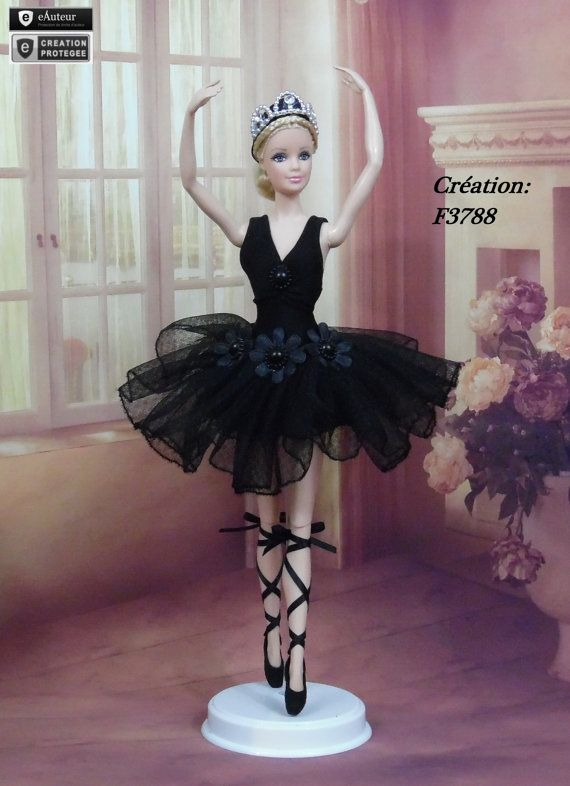 Tutu N10 held ballerina dancer doll Barbie Silkstone Muse by F3788