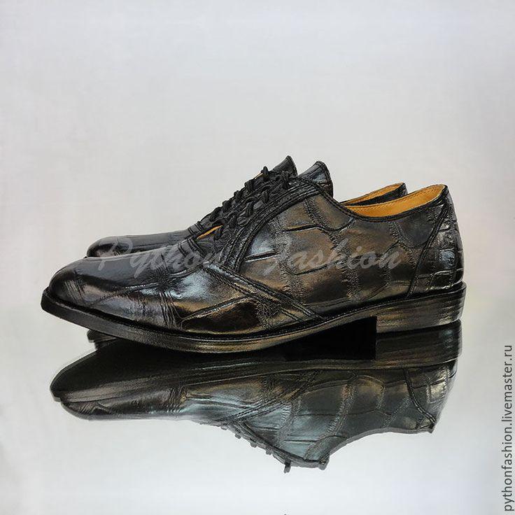 Купить Мужские полуботинки из крокодила COLE - обувь ручной работы, обувь на заказ, стильная обувь