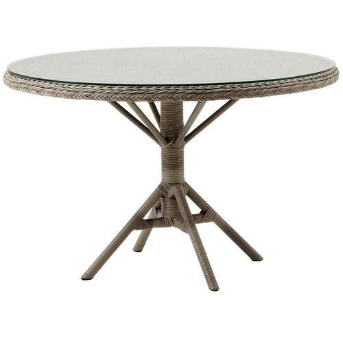 Outdoor Resin Wicker Grace Dining Table by SIKA Design ...