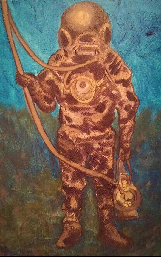 Painting by Audra Lambert 2015
