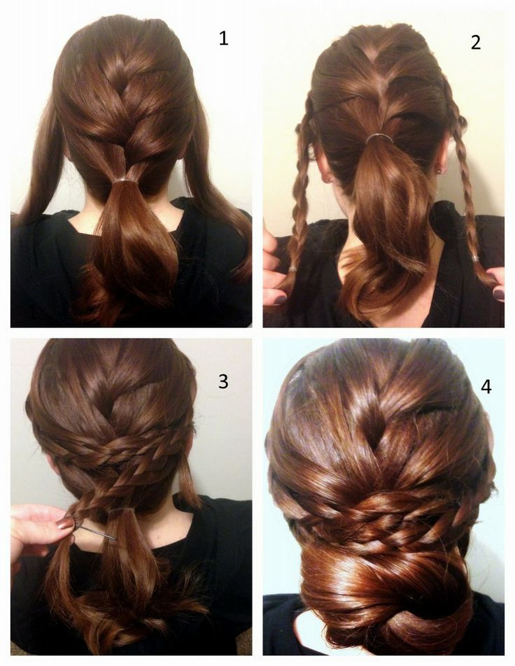 Stunning Braided Updo Hairstyle Tutorial