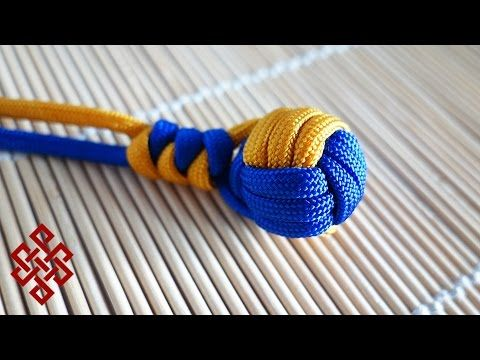 """How to Tie a Large Monkey's Fist with DIY Jig (1.5"""", 7 Passes) Tutorial - YouTube"""
