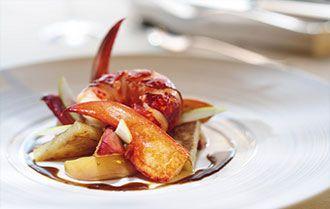Recette homard breton aux pommes et cidre breton - Recettes bretonnes